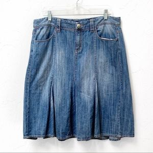 Tommy Hilfiger Blue Denim Jean Skirt Size 14